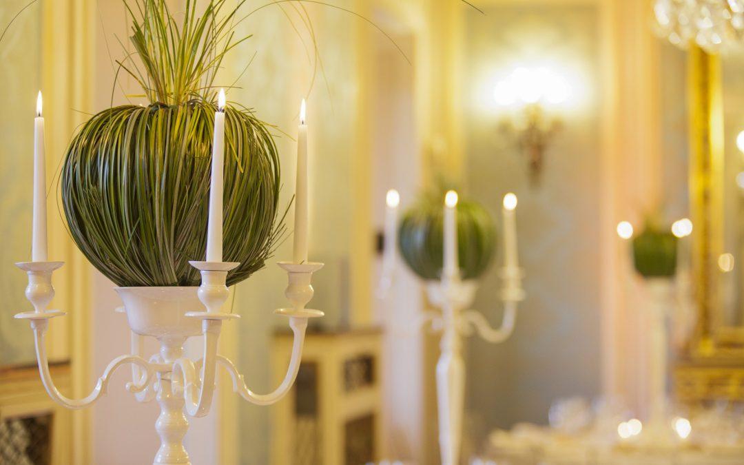 Elegant gala dinner