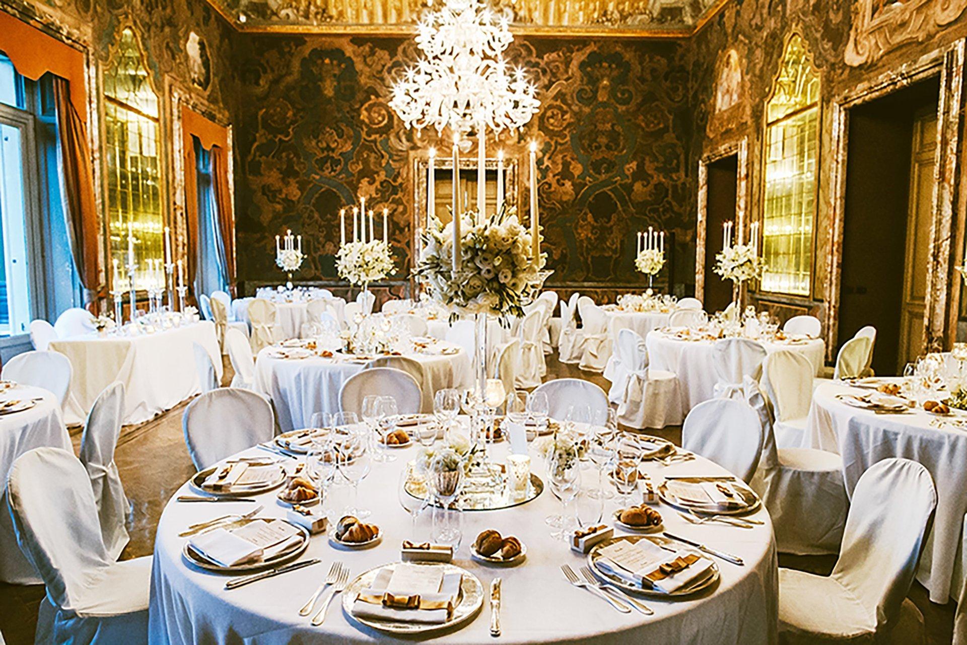 A wonderful wedding at Villa Erba