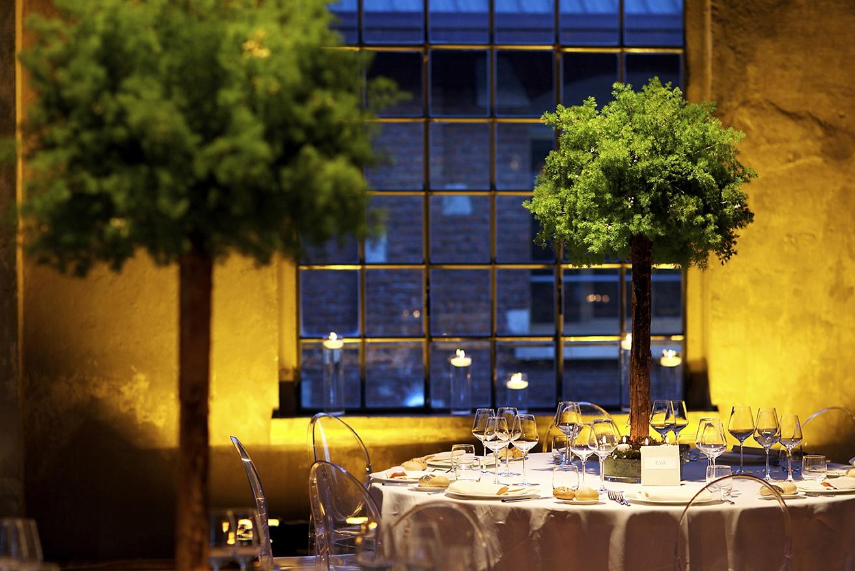 Winter garden wedding