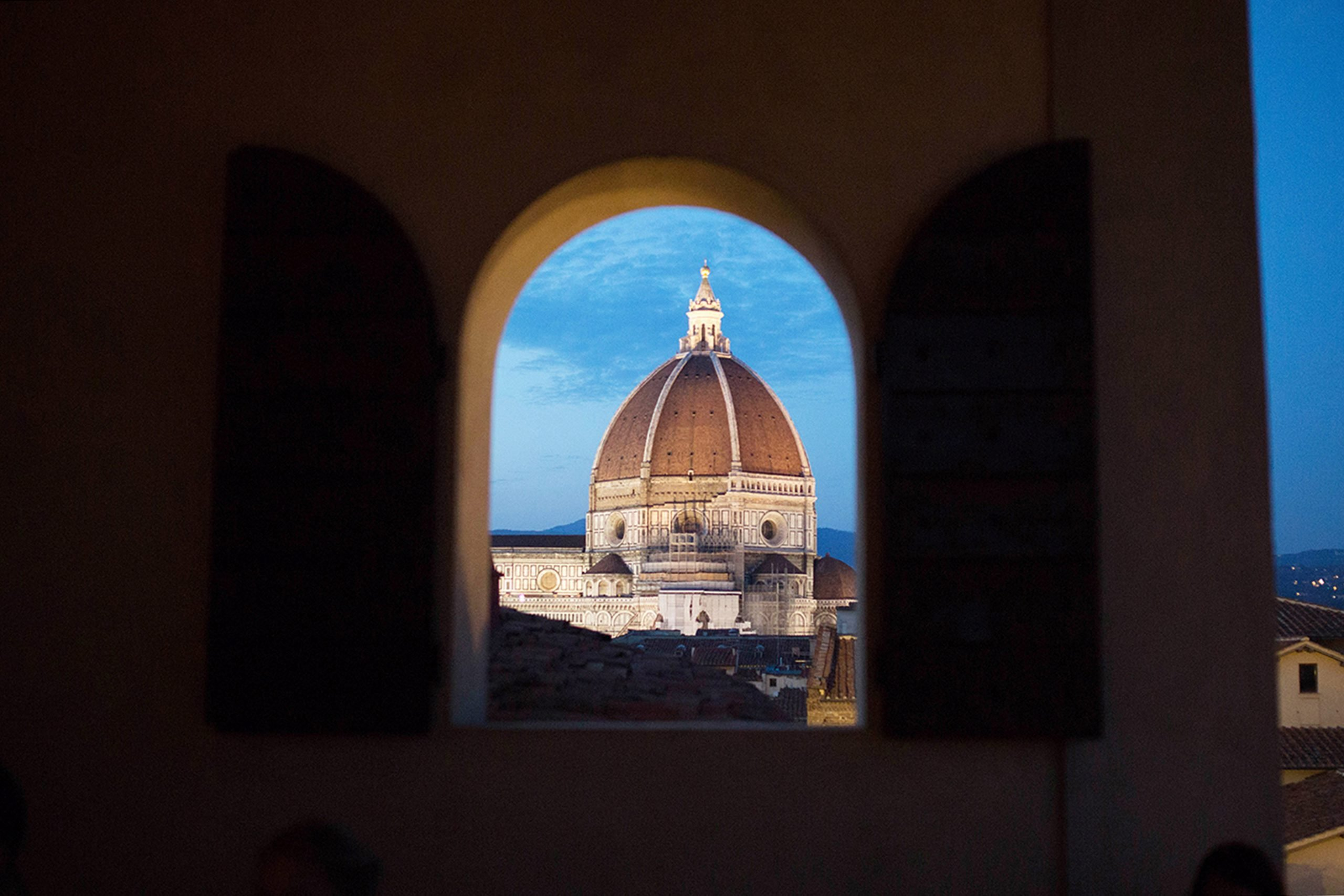 The wedding of dreams in Florence