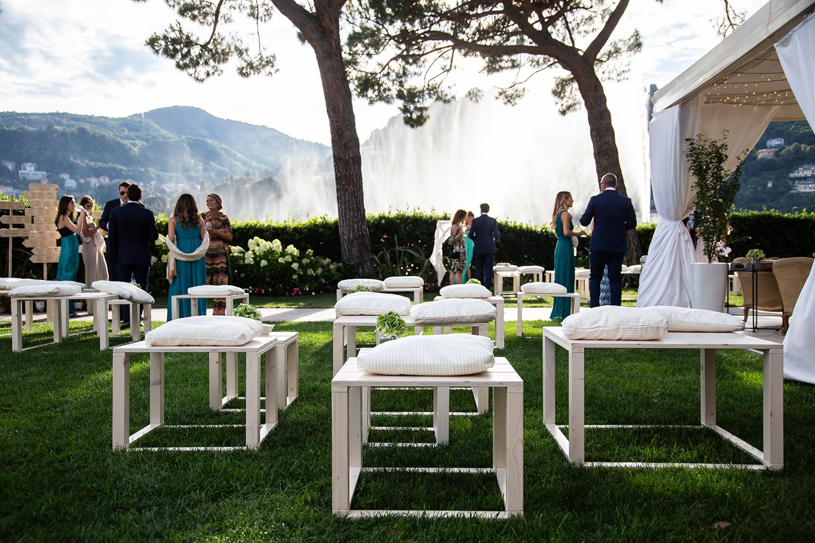 A beautiful wedding at Villa Geno