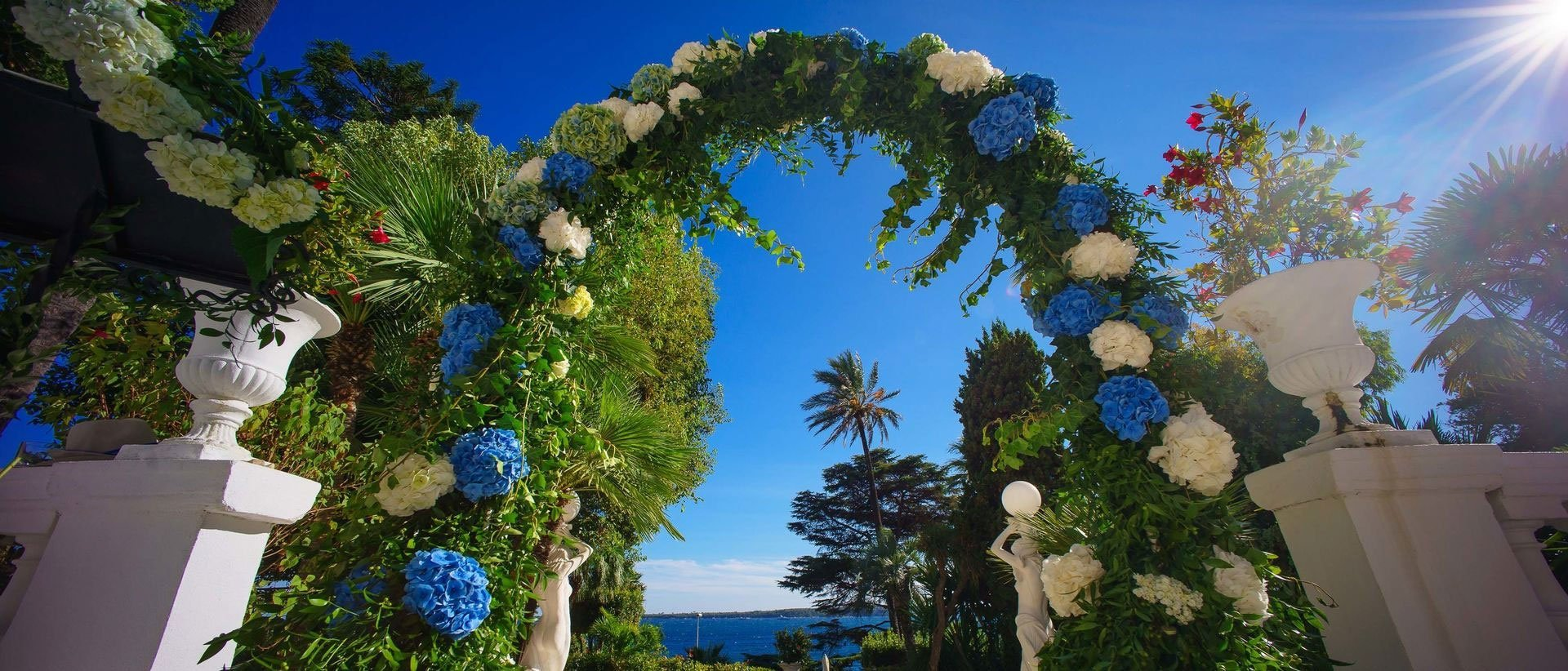 Beautiful wedding in Cannes