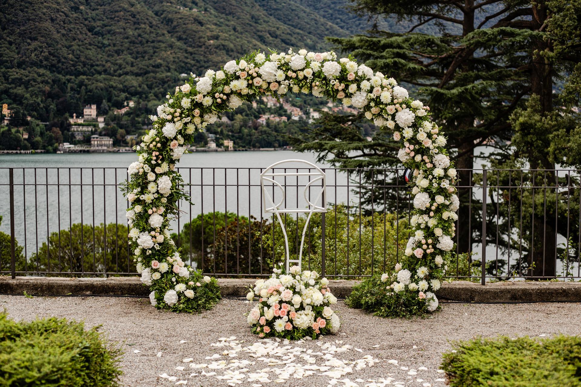 Wedding at Villa Passalacqua