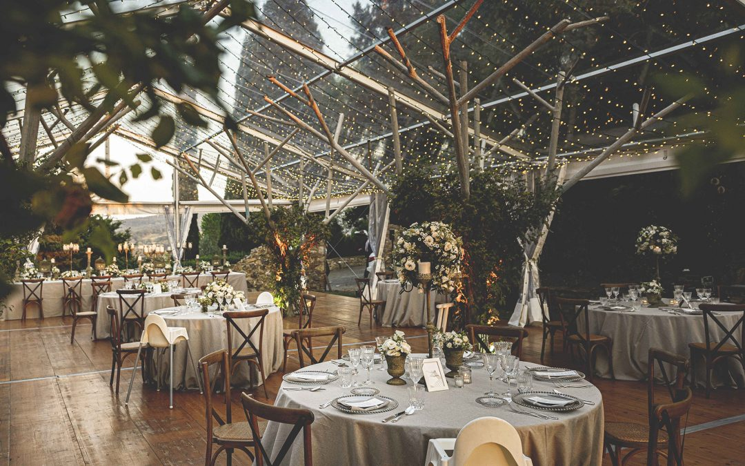 Charming wedding in a Tuscan castle