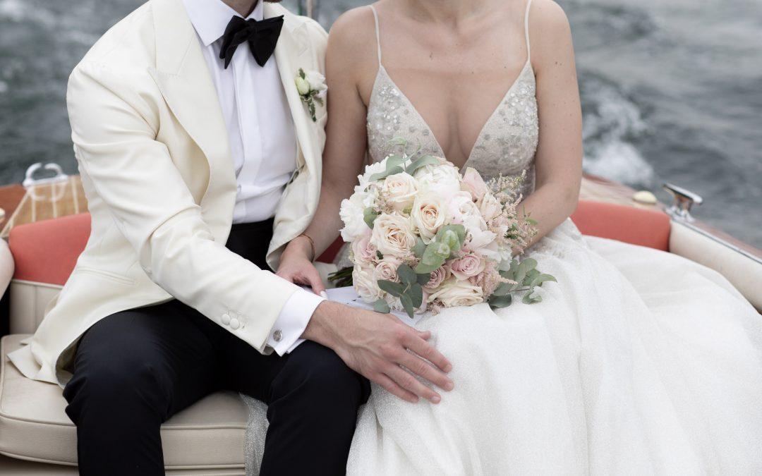 Lovely wedding at Villa Geno